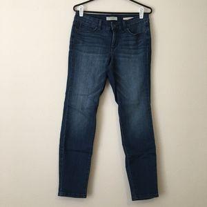 Vintage America Boho Skinny Ankle Jeans
